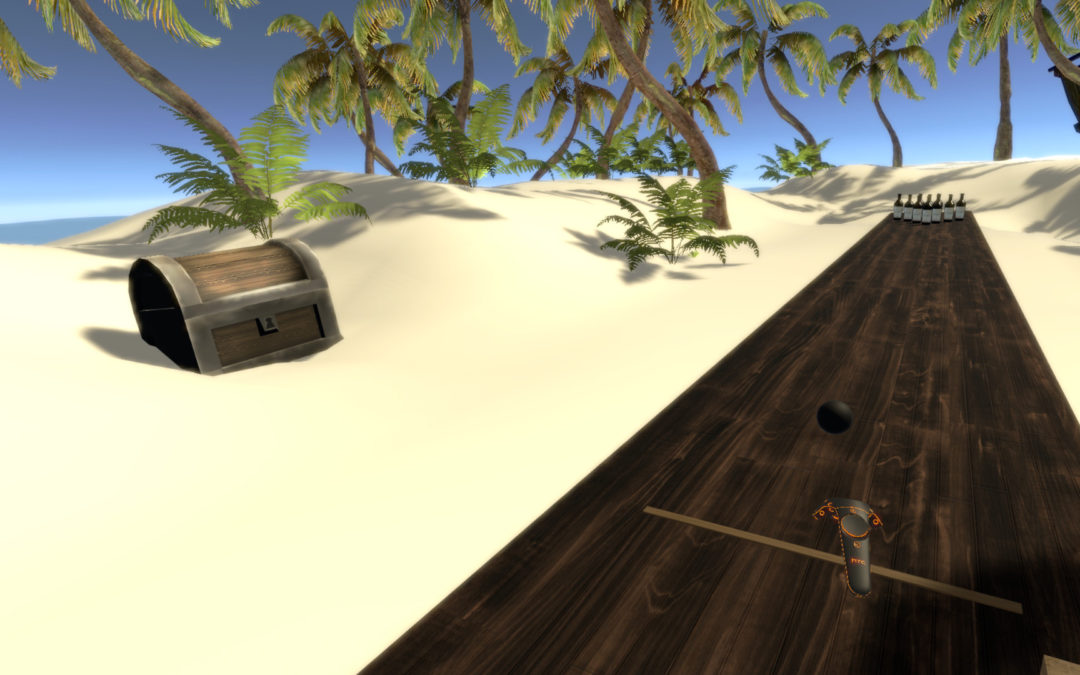 Beach Bowling Dream VR Steam Pile Review